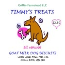 Another product from our goat milk: Timmy's Treats.